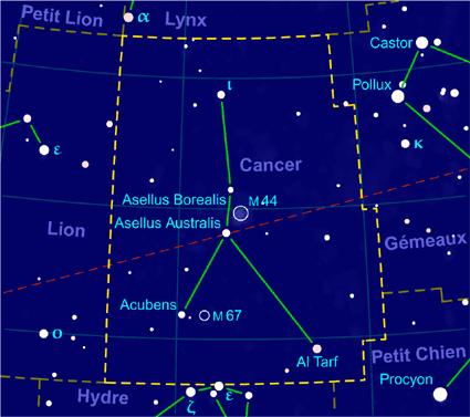 constellation à proximité autour de moi
