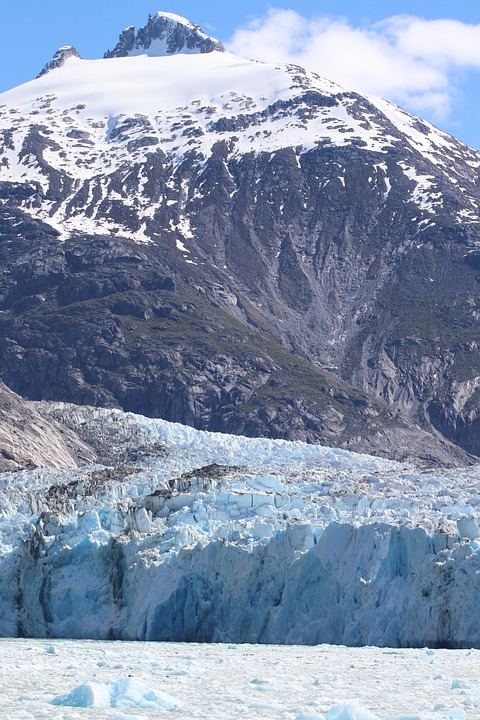 glacier à proximité autour de moi