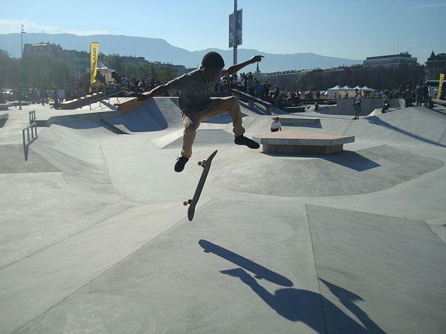 skatepark à proximité autour de moi