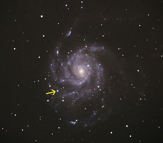 supernova à proximité autour de moi