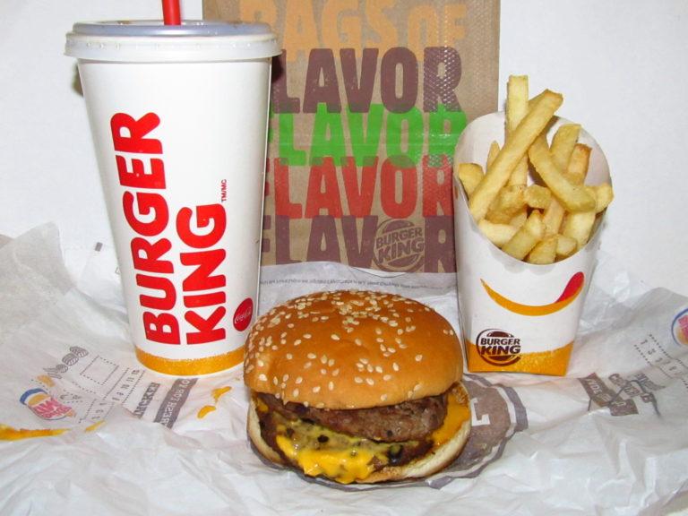 Burger king à proximité autour de moi